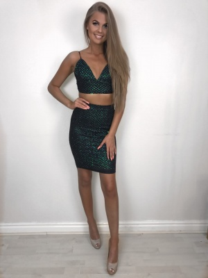Isabel green 2 piece set