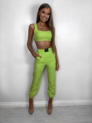 Adelae lime 2 piece set