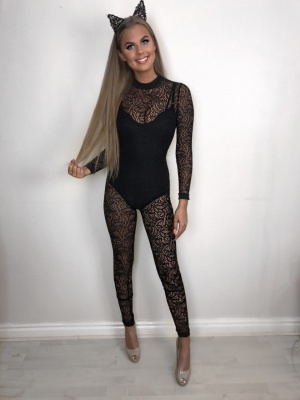 Millie lace jumpsuit