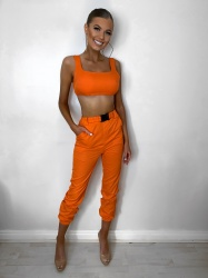 Adelae orange 2 piece set